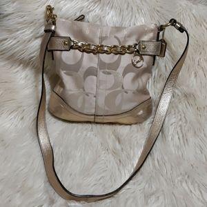 Coach Sateen Chain Crossbody Bag